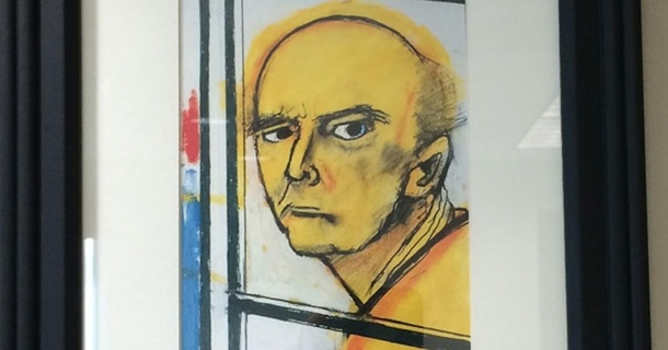 A Man Coping With Alzheimer's Painted A Self-Portrait Every Year, Until He Forgot
